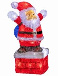 Babbo Natale luminoso 40 cm