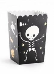 6 scatole per pop corn Halloween Boo!
