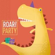20 tovaglioli compostabili dinosauro party