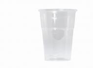 50 bicchieri in RPET riciclabili 250 ml
