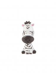 Statuina in resina zebra