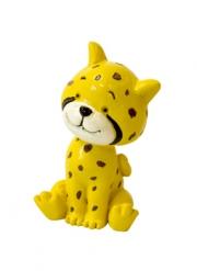 Statuina in resina ghepardo
