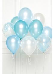 10 palloncini in lattice blu DIY