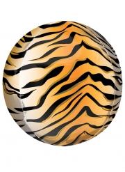 Palloncino alluminio stampa tigre