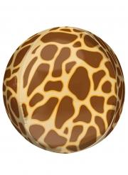 Palloncino alluminio stampa giraffa