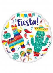 Palloncino in alluminio messicano Fiesta