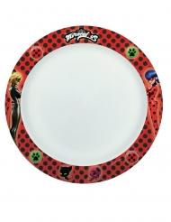 8 piatti in cartone compostabile Ladybug™ 24 cm