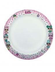 8 piatti compostabili LOL Surprise™ 24 cm