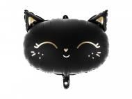 Palloncino alluminio gatto nero 48 x 36 cm