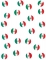 150 coriandoli da tavola bandiera Messico