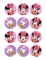 12 decorazioni per biscotti Minnie™