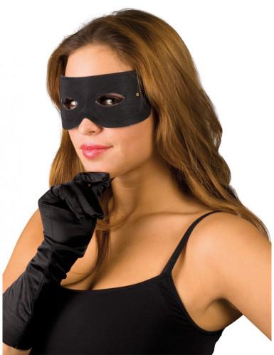 Maschera da bandito adatta per adulti