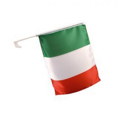 Bandiera dell'Italia per l'auto