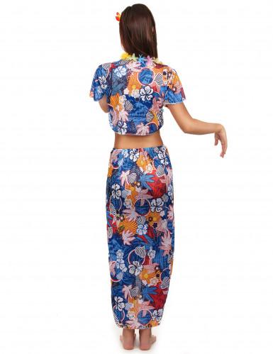 Costume da turista hawaiana da donna-1