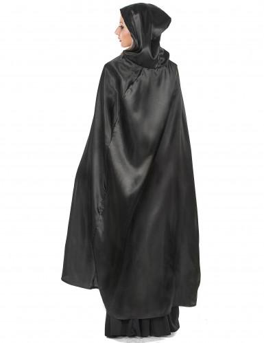Mantello nero da Vampiro per adulto Halloween-2