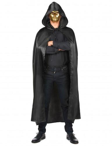 Mantello nero da Vampiro per adulto Halloween-3