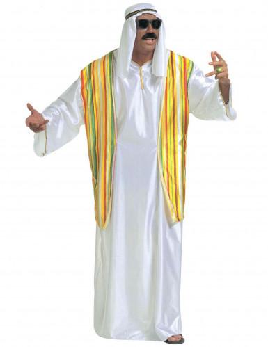 Costume da sceicco arabo per uomo