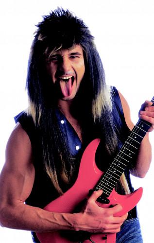 Parrucca da rocker da uomo