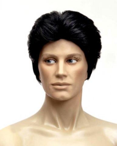 Parrucca da uomo nera