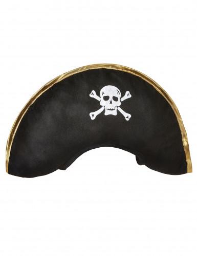 Cappello da capitano dei pirati per adulto