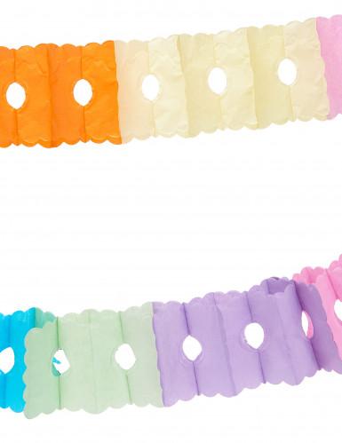 Ghirlanda di carta colorata per feste-1
