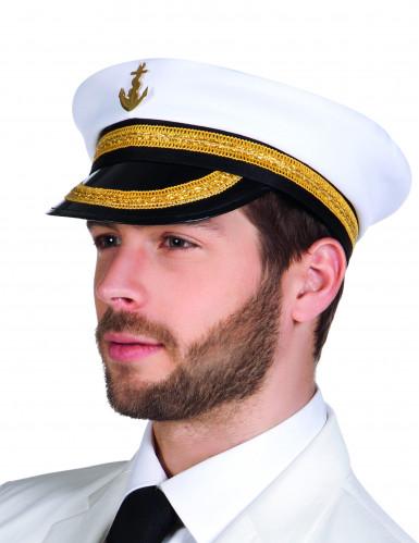 Cappello da capitano della marina per uomo