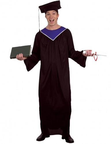 Toga laureato da uomo