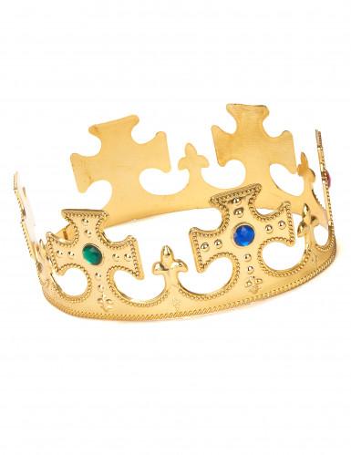 Corona dorata per uomo