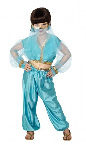 Costume per bambina da danzatrice orientale