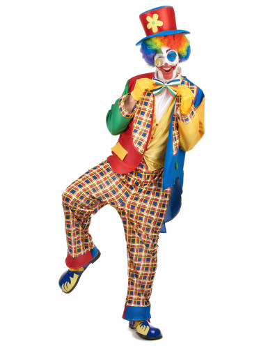 Costume da clown per uomo