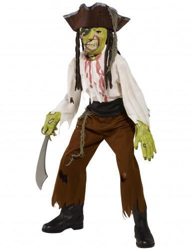 Costume da pirata mostro bambino Halloween