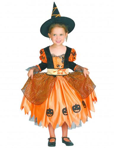Travestimento da strega di Halloween per ragazza-3