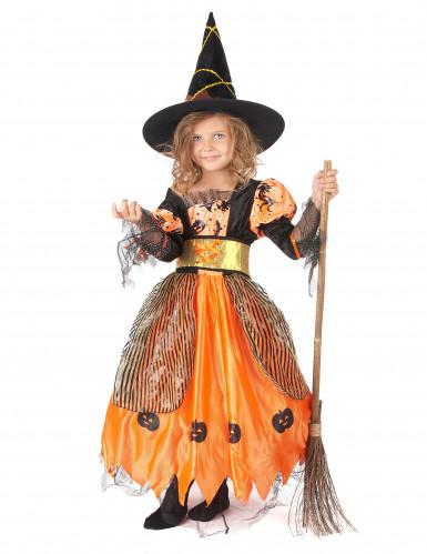 Travestimento da strega di Halloween per ragazza
