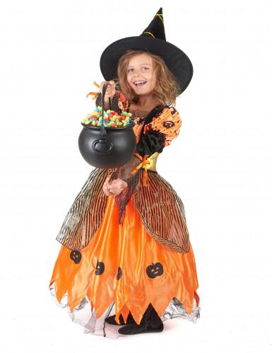 Travestimento da strega di Halloween per ragazza-1