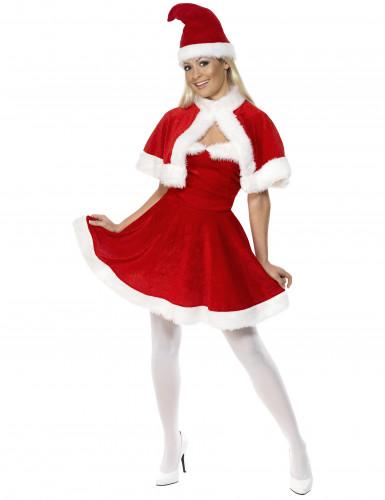 Costume corto Mamma Natale per donna