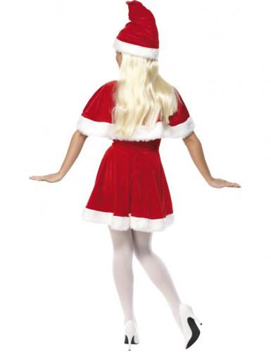 Costume corto Mamma Natale per donna-1