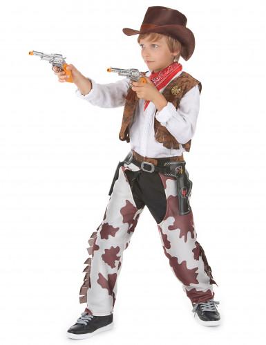Costume di lusso cowboy per ragazzo-1