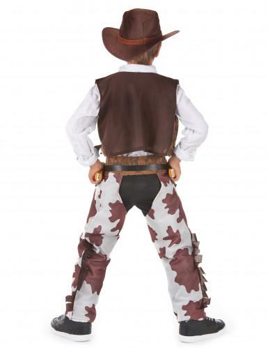 Costume di lusso cowboy per ragazzo-2