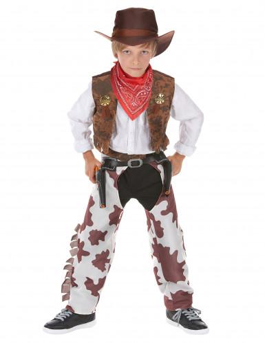 Costume di lusso cowboy per ragazzo
