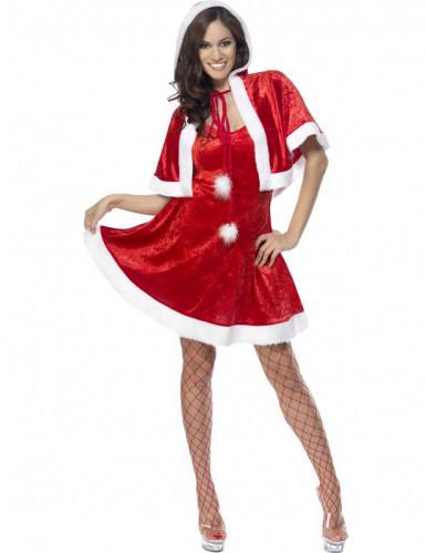 Costume da Mamma Natale sexy per donna