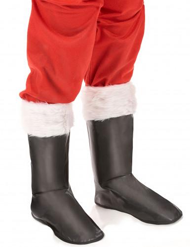 Copristivali neri da Babbo Natale