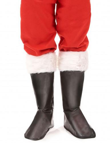 Copristivali neri da Babbo Natale-1