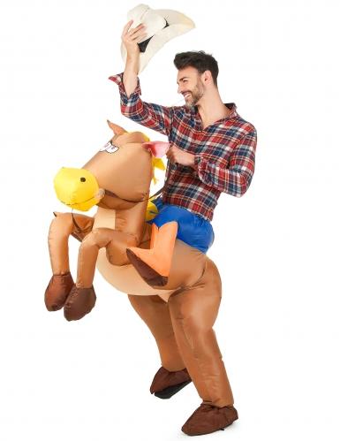 Costume da cavallo gonfiabile per adulto-1