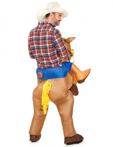 Costume da cavallo gonfiabile per adulto-2