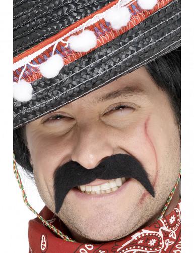 Baffi da bandito messicano