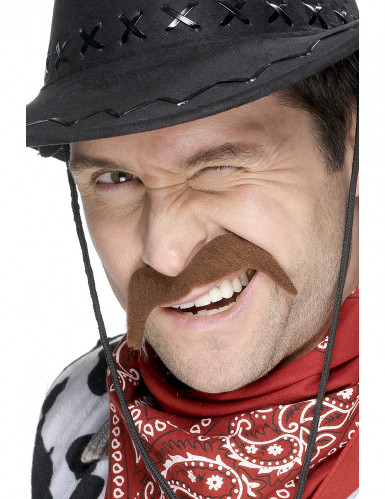 Baffi per adulto da cowboy