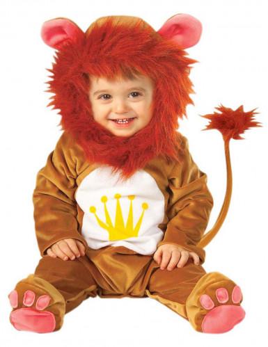 Travestimento da leone con criniera per bambino