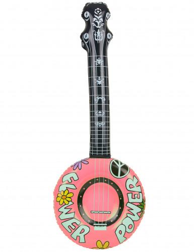 Banjo hippie gonfiabile-2