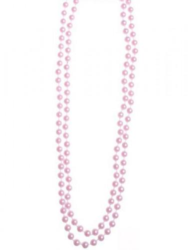 Collana di perle rosa chiaro