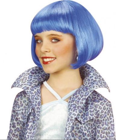 Parrucca colorata con frangia donna